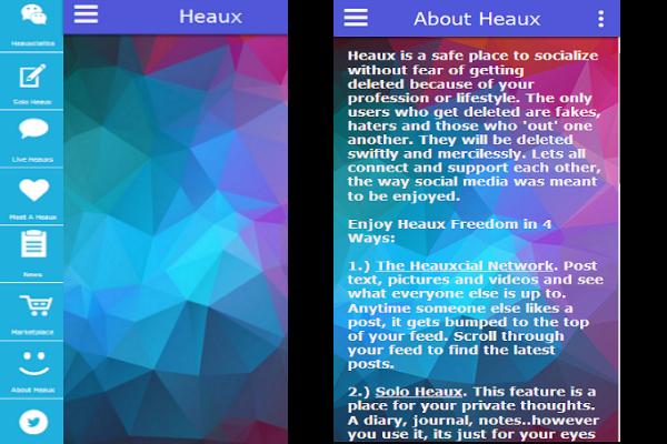 heaux app