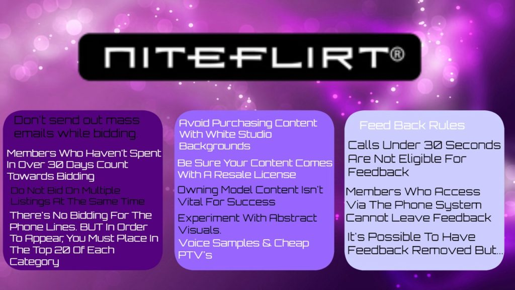 niteflirt tips